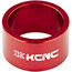 """KCNC Headset Spacer 1 1/8"""" 20mm rød"""
